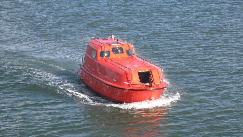 Botes de rescate no rápidos